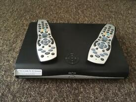 Sky+HD box with 2 remotes