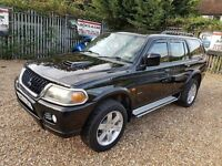 2004 Mitsubishi Shogun Sport 2.5 TD Warrior with full service history