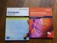 Psychology AS and A level revision books - Edexcel and Pearson Longman. good condition