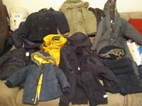 4 x large bags of boys 0-7yrs clothing include M&S, John Lewis, Zara, H&M, Next