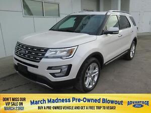 2016 Ford Explorer Limited Moonroof. Trailer Tow.