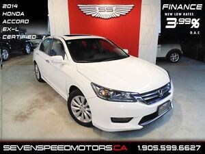 2013 Honda Accord EX-L |$132 BW ALL IN|1YR FREE WARRANTY