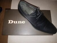 Dune Black Leather shoes