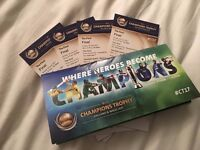 ICC Champions Trophy Final - Pakistan v India (4xtickets)