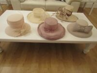 Various hats for special occasions