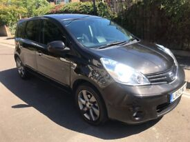(60) 2010 *AUTOMATIC Nissan Note 1.6 N-Tec Special Edition SatNav - ONLY 29,000 miles - New Mot