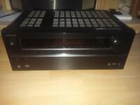 onkyo tx-nr515 7.2 surrounds amp thx speakers tannoy sub