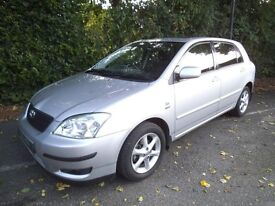 Toyota Coralla 60000 Miles - Full Service History £1200 Open to offers for quick sale