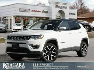 2018 Jeep Compass LIMITED | 4X4 | PANORAMIC | LEATHER | NAVIGATI