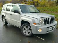 2008 JEEP PATRIOT 2.0 CRD*LIMITED*FSH*LEATHER*H/SEATS*EXC COND'N*#X-TRAIL#RAV4#LANDROVER