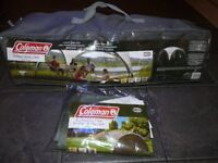 SUPERB COLEMAN EVENT SHELTER 3 X 3 PLUS SUNWALL AS NEW