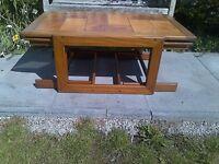 Large 1960s 1970s Vintage Swedish Tile Top Teak Nest coffee tables