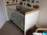 Mamas and Papas nursery furniture and feeding chair