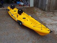 Wilderness system tarpon 130t - double kayak only used 3 times