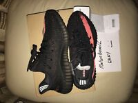 Adidas Yeezy Boost 350 V2 Red/Black Size UK 9