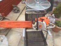 Ms 441c stihl chainsaw