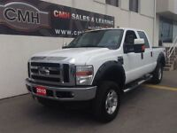 2010 Ford F-350 SUPER DUTY XLT 6.8L 4X4 LOADED (CERTIFIED)