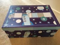 Dunelm children's space storage box