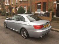 2012 62 BMW 320D SPORT PLUS EDITION E93 CONVERTIBLE DAMAGED SALVAGE REPAIRABLE