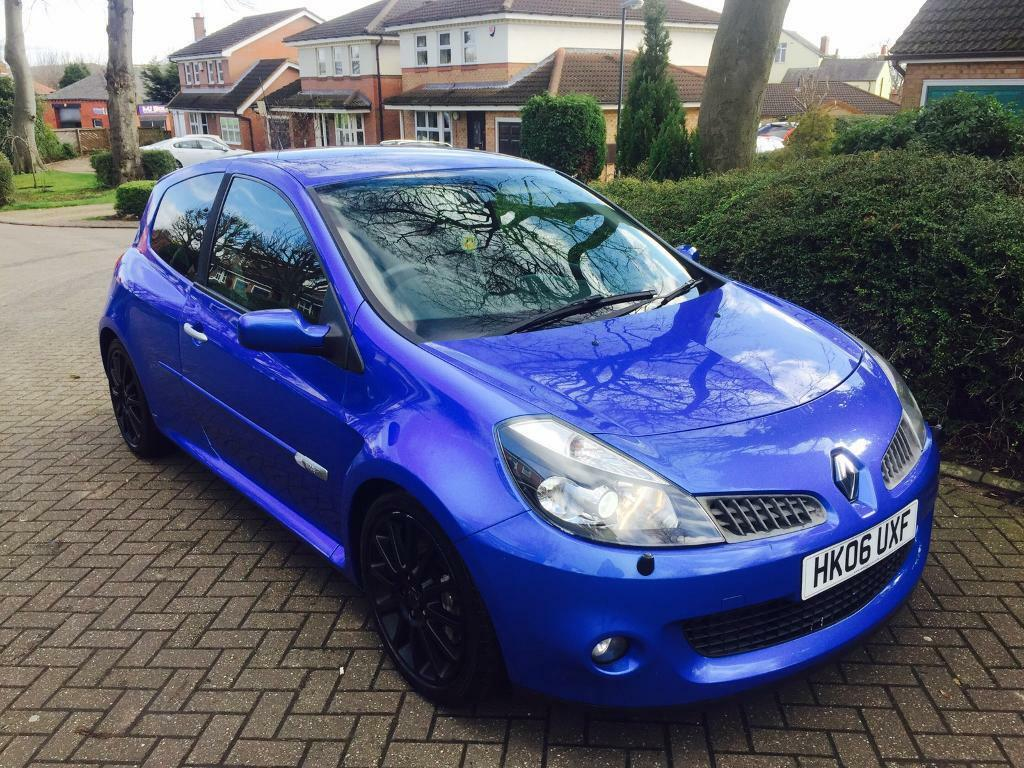 renault clio sport 2 0 197 2006 not vrs wrx cupra r fr tdi 225 st gtd r32 320d in wakefield. Black Bedroom Furniture Sets. Home Design Ideas