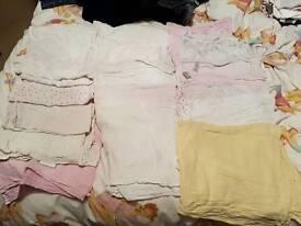 Bundle of 17 Muslin cloths