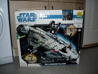 star wars 2008 legacy millennium falcon BMF over 2.5 foot in size complete/boxed