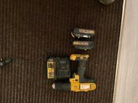 Dewalt drill 2 batteries and charger