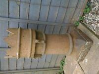 Reclaimed Crown chimney pot. (Victorian ) .