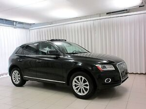 2017 Audi Q5 2.0 TFSI QUATTRO w/ PANORAMIC ROOF, HEATED LEATHER