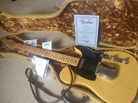 Fender Nocaster, Limited Edition, Custom Shop, Nacho Banos book Telecaster
