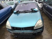 2004 Renault Clio, 1.4 Petrol, Breaking for parts only, All parts available