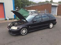 BREAKING Honda Civic Aerodeck B18c4 S80 MC2 Mods
