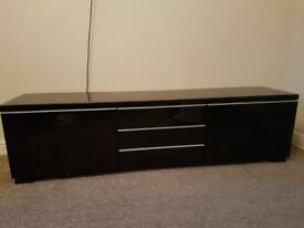 High gloss black - tv stand or cabinet draw