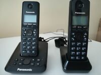 Panasonic Twin Cordless Phone with answer machine