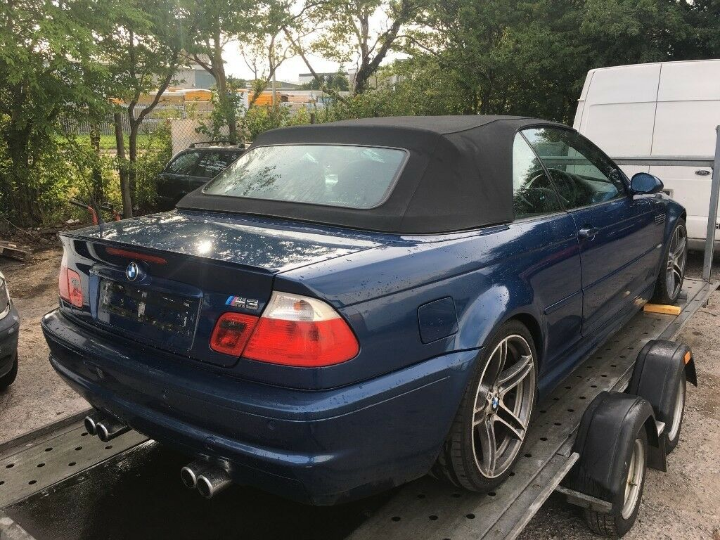 BREAKING FOR PARTS - 2002 BMW E46 M3 Convertible TopazBlue - Spares | in  Livingston, West Lothian | Gumtree