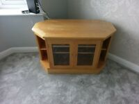 CornerTV unit Oak.