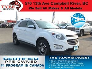 2016 Chevrolet Equinox LTZ AWD Navigation/Leather Heated Seats/S