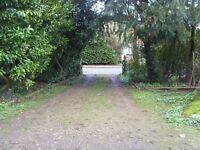 Double width garage in Harpenden for long term rental.