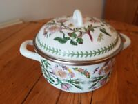 PORTMEIRION ENAMEL COOKING POT