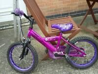 Girls 16 inch bike