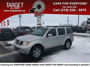 2006 Nissan Pathfinder LE, Loaded; Leather, Roof, New Tires and
