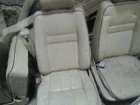 Range rover p38 cream electric leather interior