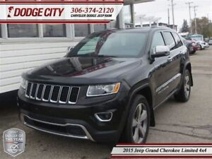 2015 Jeep Grand Cherokee Limited | 4x4 | PST PAID - Sunroof, Rem