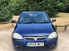 VAUXHALL CORSA 2004 5DOOR 12 MONTHS MOT 79000 MILL'S 13 SERVICES HPI CLEAR EXCELLENT CONDITION