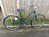 Vintage 1964 Ladies Triumph Town Bike. Beautiful Condition. Free Lock, Lights, Delivery