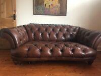 Leather sofa , chair must go tomorrow
