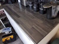 Kronospan (Selco) JAVA BLOCK WOOD KITCHEN WORKTOP 38MM x2 pieces