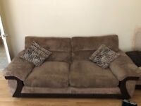 sofa suit including sofa bed an two footstools