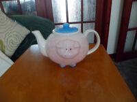 For Sale - Pig Teapot