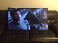 "Sony 55"" 4K Curve Smart/3D TV"